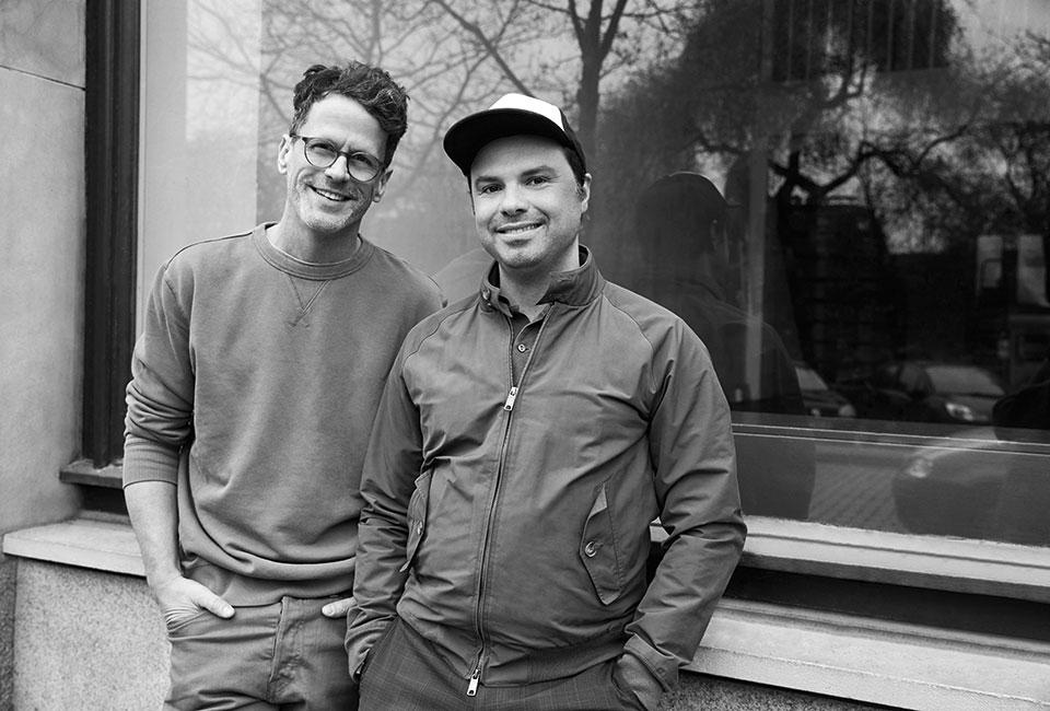 Inhaber der DJ Agentur getont: Mats Voerg & Gerson Duarte
